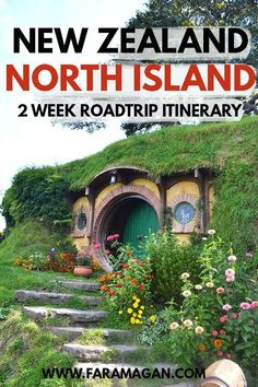 Ultimate road trip itinerary for New Zealand's North Island. Includes our road trip route, 2 week itinerary, top campsites and more! Features #tongariro #hobbiton #waitomo and so many more stunning stops! #newzealand #northislandnewzealand #vanlife