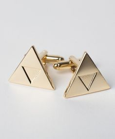 Triforce Cufflinks ($24.99) and more in the Gamer Wedding Guest Guide