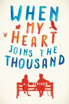 When My Heart Joins the Thousand - by A. J. Steiger. Alvie Fitz doesn't fit in, and she doesn't care. She's spent years swallowing meds and bad advice from doctors and social workers. Adjust, adapt. Pretend to be normal. It sounds so easy. If she can make it to her eighteenth birthday without any major mishaps, she'll be legally emancipated. Free. But if she fails, she'll become a ward of the state and be sent back to the group home. Then she meets Stanley.