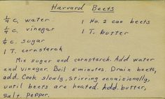 Harvard Beets | Flickr - Photo Sharing!