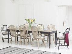 Farmhouse Table Farmhouse Desk For Sale Farmhouse Table And Six Chairs Farmhouse Pine Table And Chairs Farmhouse Dining Room # Chairs - - Table Design, Dining Room Design, Dining Room Chairs, Dining Tables, Dining Area, Kitchen Chairs, Side Chairs, Kitchen Design, Pine Table And Chairs