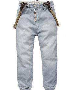 Low crotch pants-Scotch & Soda