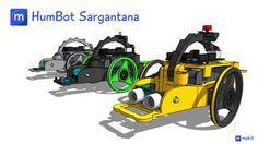 Picture of Arduino 3D printed robot: Humbot Sargantana