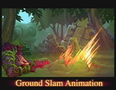 Wolf Ground Slam Animation by AlexRedfish.deviantart.com on @deviantART