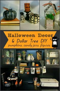 Dollar Store Halloween Decor DIY