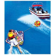 It is a newdoable ; a controllable towable that you canmaneuver, slalom, jump, veer, and do a combination of moves through the boat wake or crest in a straight-line boat pattern. As you gain balance and the ability to maneuver, you will have. | eBay!