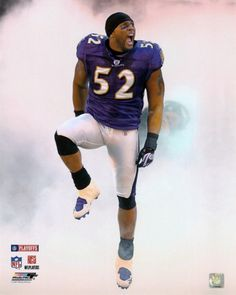 Ray Lewis...a true bad a#* on the football field
