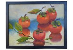 Reflected Persimmons by Sally Hamilton 1195/835