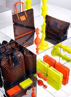 "Louis Vuitton Spring/Summer 2013 ""Damier Signature"" Collection"
