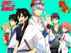 Gintama & Sket Dance Crossover...I am so exited to see that episode!!! And its an actual episode! There is really a crossover of Gintama and Sket dance