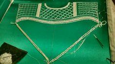 Royale emerald green caftan 2106 in progress