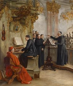 The Music of the Catholic Church: Gregorian Chant (before the ridiculous christian rock music came along)