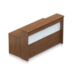 Global OTG Ionic ML72MRD - Office reception desk.  Available for online purchase at Ugoburo.ca