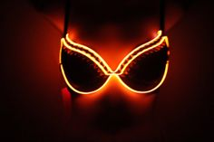 """Items similar to El Wire """"Owl the Rage"""" Light up Rave Bra 34 B on Etsy Rave Outfits, Cool Outfits, Rave Mask, Led Costume, Glow Party, Rave Wear, Raves, Festival Outfits, Trance"""