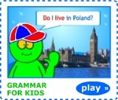 English grammar, quizzes, songs, printable worksheets for ESL kids