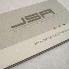 jsa arquitectos business card | © all rights reserved