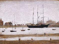 Rhyll Harbour, (2), 1947