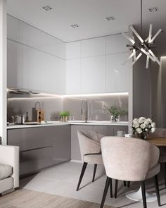 modern kitchen interior Modern Kitchen Cabinets Ideas to Get More Inspiration Dish Kitchen Room Design, Kitchen Cabinet Design, Modern Kitchen Design, Home Decor Kitchen, Interior Design Kitchen, Home Kitchens, Kitchen Ideas, Condo Interior, Kitchen Trends
