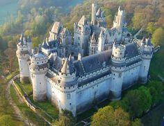 Pierrefonds Castle, France.