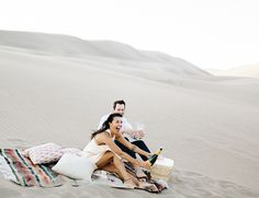 JL: want props for Haikou desert-inspired shoot Colorado Sand Dunes Engagement Photos - Inspired by This