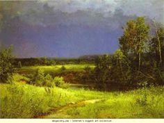 Ivan Shishkin. Gathering Storm