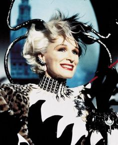 Glenn Close as Cruella De Vil - 101 Dalmatians The Movie (1996)