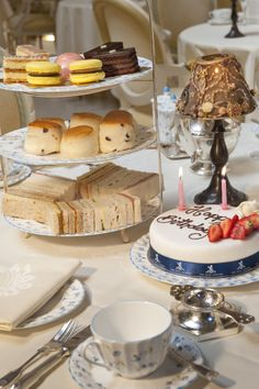 The most famous afternoon tea in London - Afternoon Tea at The Ritz offers a choice of 16 different types of loose leaf tea. The traditional English Tea menu includes freshly cut finger sandwiches with six types of filling, warm baked raisin and apple scones with strawberry preserve and clotted Devonshire cream follow with a delectable selection of cakes and afternoon tea pastries topping the tiered cake stand.   #AfternoonTea