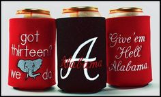 Alabama Football Koozies!