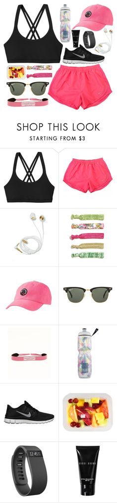 work harder by okieprep on Polyvore featuring NIKE, Patagonia, Southern Proper, Ray-Ban, Lilly Pulitzer, Vineyard Vines, Bobbi Brown Cosmetics and Victoria's Secret