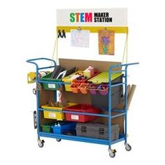 STEM Maker Station with room for everything.