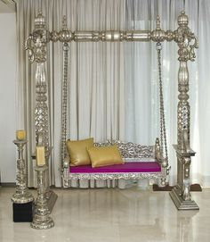 Spider India - Manufacturer of Silver Inlay Furniture, Antique And Vintage Teak Bone Inlay Furniture & Carved Furniture from Jodhpur, Rajasthan, India Silver Furniture, Living Furniture, Home Furniture, Furniture Design, Cheap Home Decor Online, Home Decor Online Shopping, Indian Home Decor, Diy Home Decor, Home Swing