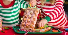We've all been there...graham crackers ready, icing ready, kids ready. They start to assemble their creative masterpieces, and then...
