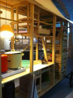 """""""Ramène ton bol"""" - Exposition """"ma cantine en ville"""" Cité de l'architecture 2013 - un des projets lauréats du concours Minimousse. (photo B. LE STRAT)"""