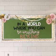 Well, the rest of my classroom is a steaming hot mess but at least my hallway bulletin board is done! The bulletin board idea and letters… Classroom Design, Classroom Displays, Future Classroom, School Classroom, Classroom Themes, Classroom Organization, Seasonal Classrooms, Classroom Board, 7th Grade Classroom