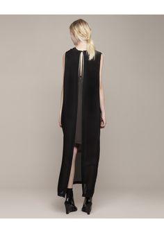 Jeremy Laing / Tiered V Column Dress