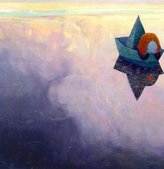 Illustration by Shaun Tan. The water is so impressionistic! Greta M.