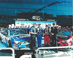 awesome 2X AUTOGRAPHED Jeff Gordon & Jimmie Johnson 2014 Daytona Speedway (Gatorade Victory Lane) Hendrick Team Signed 8X10 Picture NASCAR Glossy Racing Photo with COA