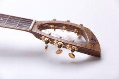 2014 KOPO Guitars Gloucester 1 headstock