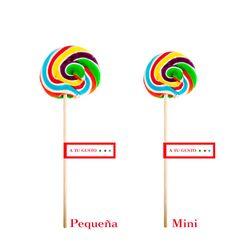 Piruleta Multicolor Redonda Pequeña y Mini http://todo-piruletas.es/producto/piruleta-multicolor-redonda-pequena-y-mini/