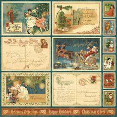 graphic 45 paper   CHA Summer Sneak Peek: Introducing Christmas Emporium