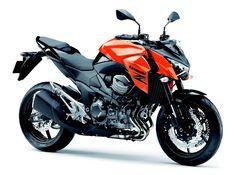 New colour Z800e 2013 - Pearl Blazing Orange/Metallic Spark Black