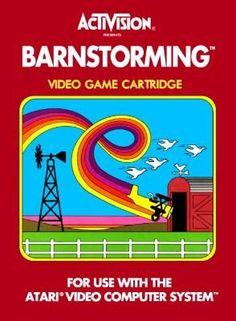 BARNSTORMING – ATARI 2600 $5.95 --> https://pyroflame.com/collections/rare-games/products/barnstorming-atari-2600 #ecommerce #gaming #retrogaming #gamer #retro #gamersunite #geek #tech #gadgets