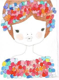 Simple Illustration, Gaston, Girl Room, Art For Kids, Bing Images, Contemporary Art, Whimsical, Art Gallery, Kawaii