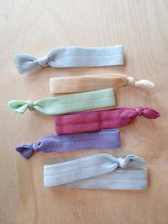 A Quick Little Hair-tie DIY