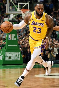 LeBron James has worn Nike LeBron and more all season. King Lebron James, Lebron James Lakers, Lakers Kobe Bryant, King James, Lebron James Dunk, Nike Lebron, Basketball Legends, Sports Basketball, Basketball Players
