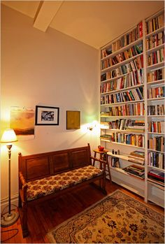 library...to have a cozy place to go for all of my books.