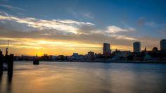 Sunset / Sonnenuntergang Skyline Hamburg #Hamburg #EuropaPassage #EuropaPassageHamburg