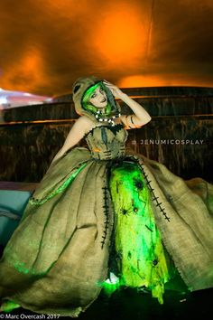 Tagged with cosplay, halloween, nightmarebeforechristmas, halloween costume, oogie boogie;