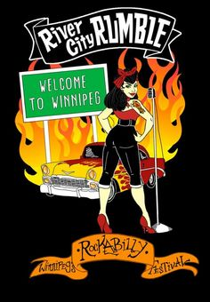 River City Rumble Winnipeg Rockabilly Festival featuring live bands, burlesque, swing dancing, all kinds of workshops & more.