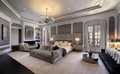 Dream House Interior, Luxury Homes Dream Houses, Dream Home Design, Luxury Homes Interior, Home Interior Design, Luxury Bedroom Design, Master Bedroom Design, Home Bedroom, Modern Bedroom